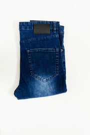 Hera Spray On Skinny - Mid Blue