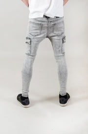 Poseidon Spray On Skinny - Light Grey