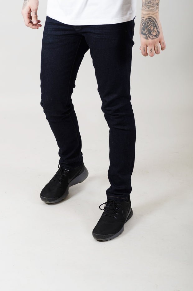 LJ 6510 Skinny Stretch Jeans - Raw Denim
