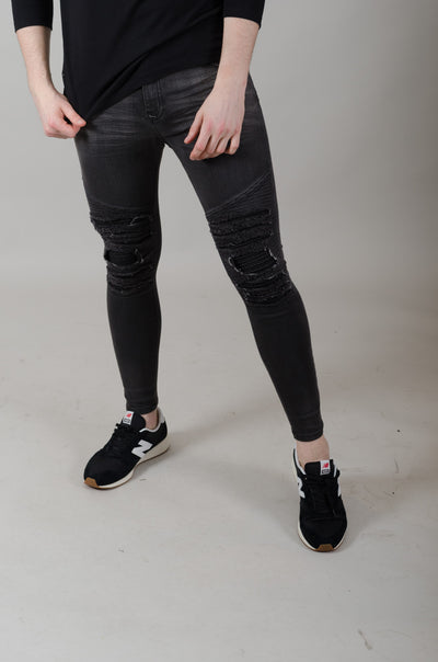 Aphrodite Spray On Skinny - Washed Black