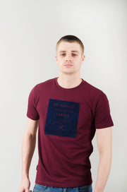 Pluto Graphic Tee - Purple