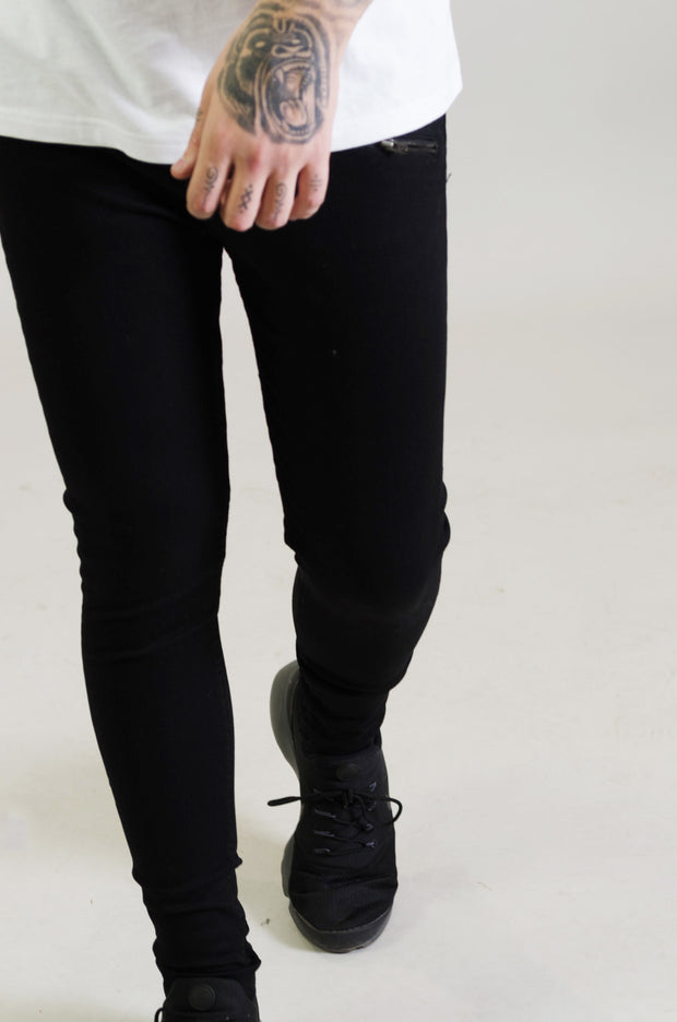 LJ 6500 Skinny Stretch Jeans - Black