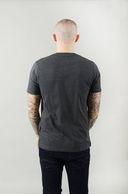 Fred Cut & Sew Tee - Charcoal/Black