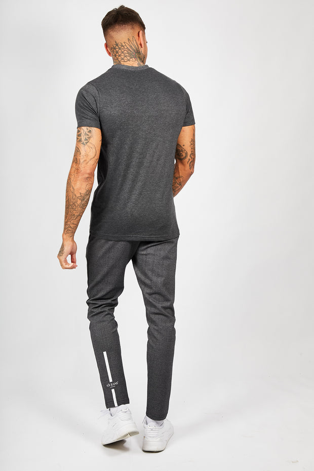CRU Jogger & T-Shirt Set - Dark Grey