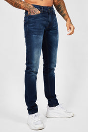 DBJ Tapered Jean - Dark Blue
