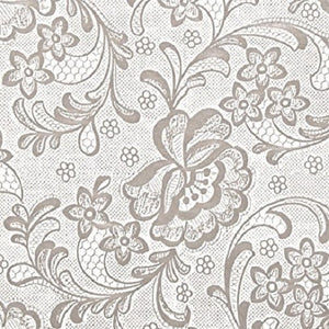 Frosty™ White Lace Self-Adehsive