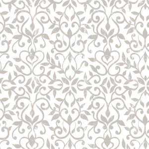 Con-Tact® Brand Grip Prints™, Non-Adhesive, Antique Floral