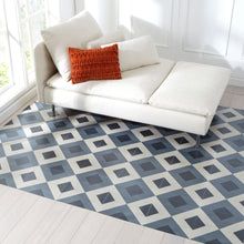 FloorAdorn® Grey Network Vinyl Appliqués