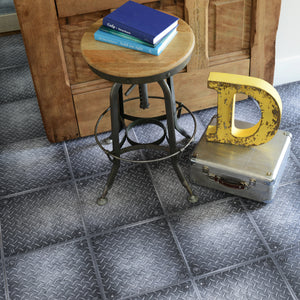 FloorAdorn® Heavy Metal Vinyl Appliqués