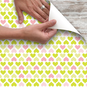 Con-Tact® Brand Creative Covering™ Lemonade Hearts