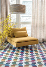 FloorAdorn® Squared Color Vinyl Appliqués
