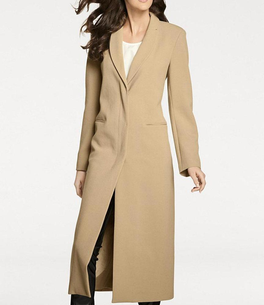 TRENDY BROWN COAT