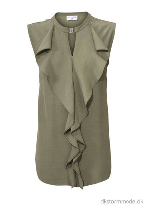 Army Green Brand Blouse - Rick Cardona |Ds018358Cj8 Blouese