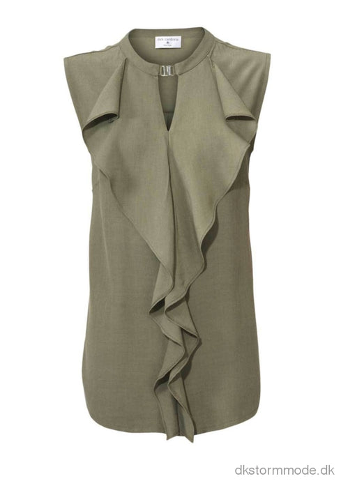 Army Green Brand Blouse - Rick Cardona | Ds018358Cj8 Blouese