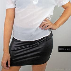Black Short Skirt |Ds4488448888 Shirt
