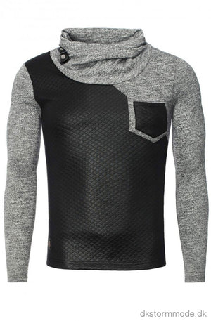 Crm Mens Blouse - Black 7916-2 Long Sleeve