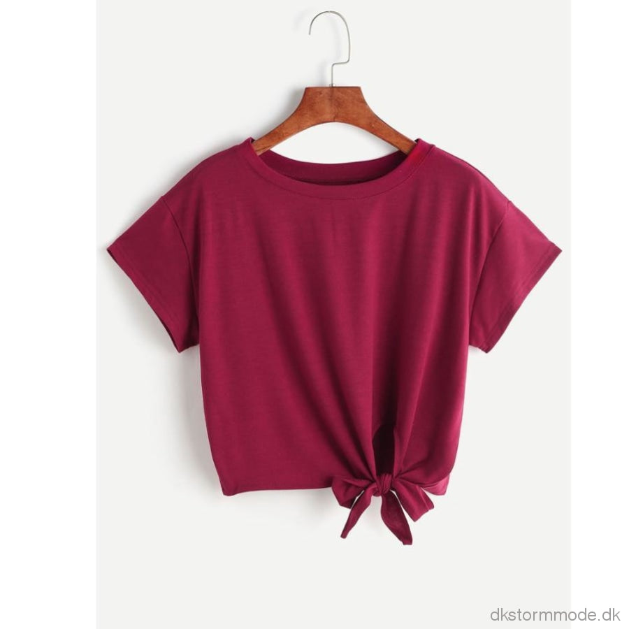 Fashion Candy Colors Shirt Women Loose Casual Short Sleeve Solid Blouse Tops Tee Shirt Femme