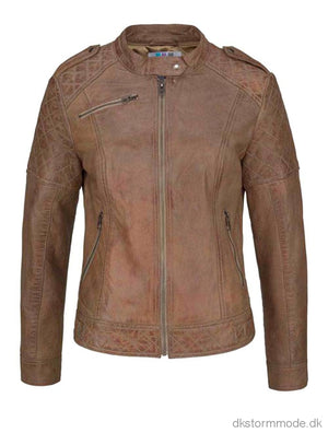 Leather Jacket |Ds760741Cj45 Leather