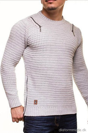 Male Sweater Crsm - Grey 9507-2 Sweaters