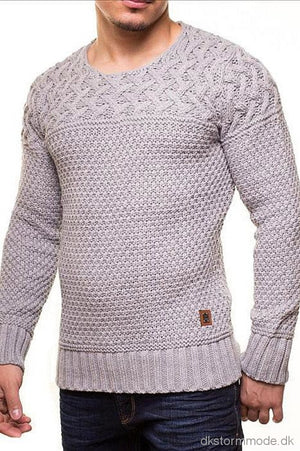 Male Sweater Crsm - Grey 9516-3 Sweaters
