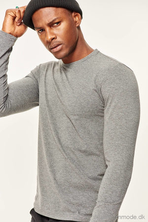 Mens Long Sleeve T-Shirt Presser -Slim Fit Fabric |Dsal-Tmnaw19Bo0004Pusd10K25