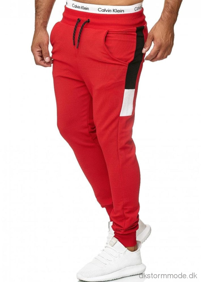 Pants -Red 52010-4 Trousers Shorts