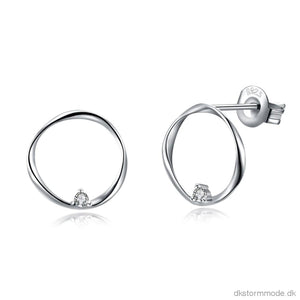 Sh-E0112 Fashion Silver Earrings Acess Jewellery & Watches->Earrings