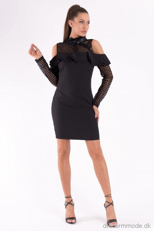 Soky Soka Dress Black 49005-1 Dresses