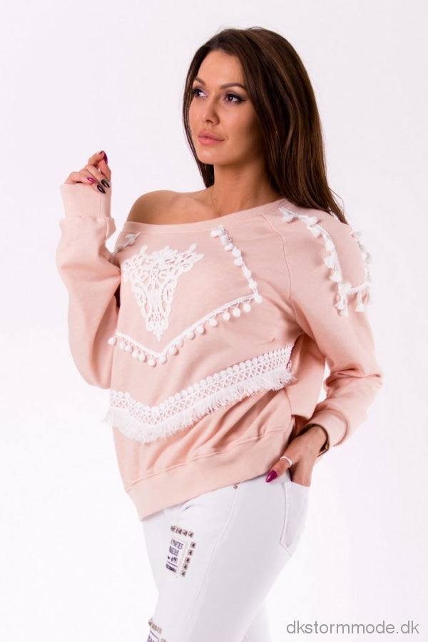Sweater - Light Pink 46003-1 Sweater