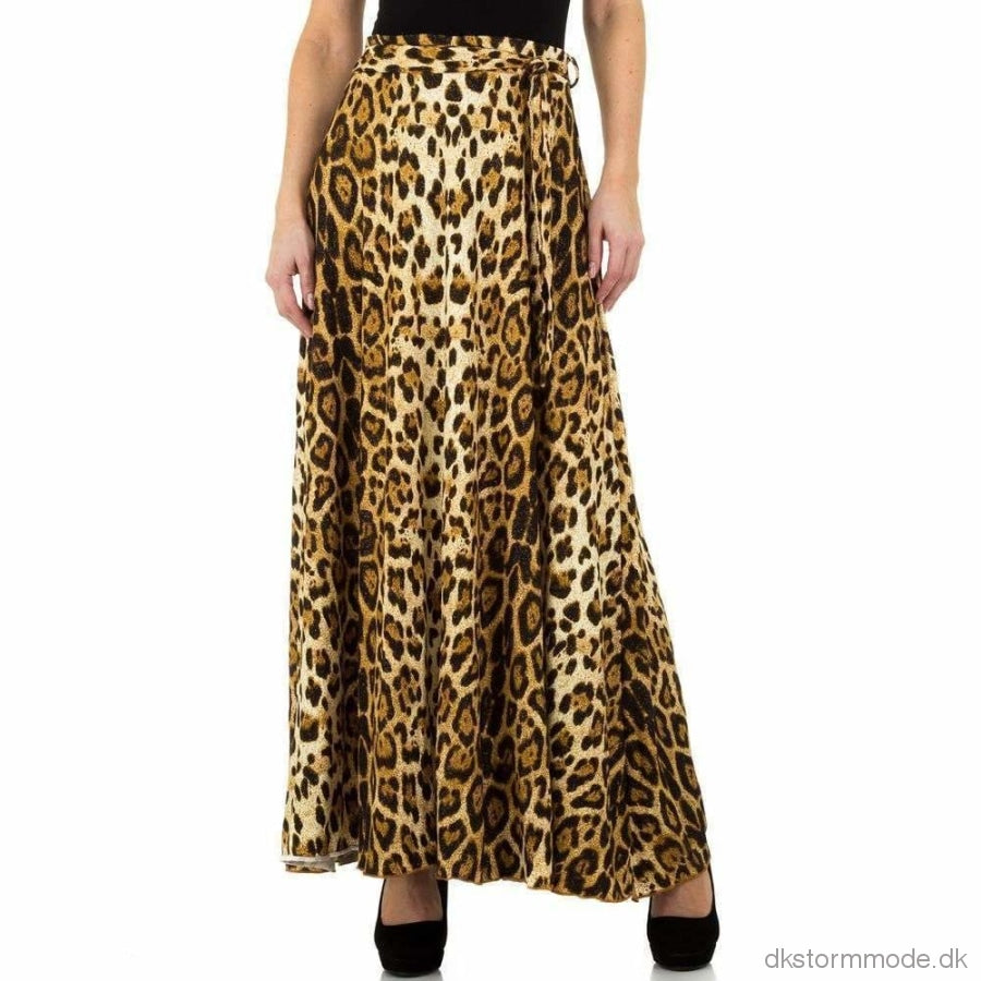Trendy Leopard Skirt Long |Dskl-83271-Leopardsw9K90