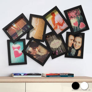 Uneven Photo Frame (8 Photos)