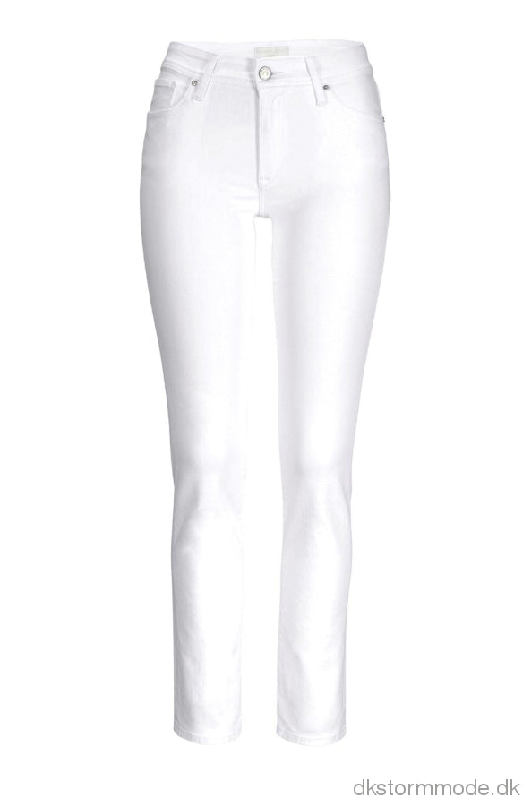 White Stretch Jeans 34Inch | Ds230134Cj14K50