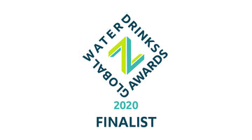 Global Water Drinks Awards Finalist!