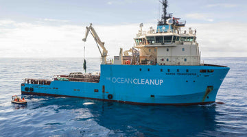 The First Plastic Catch! The Ocean Cleanup