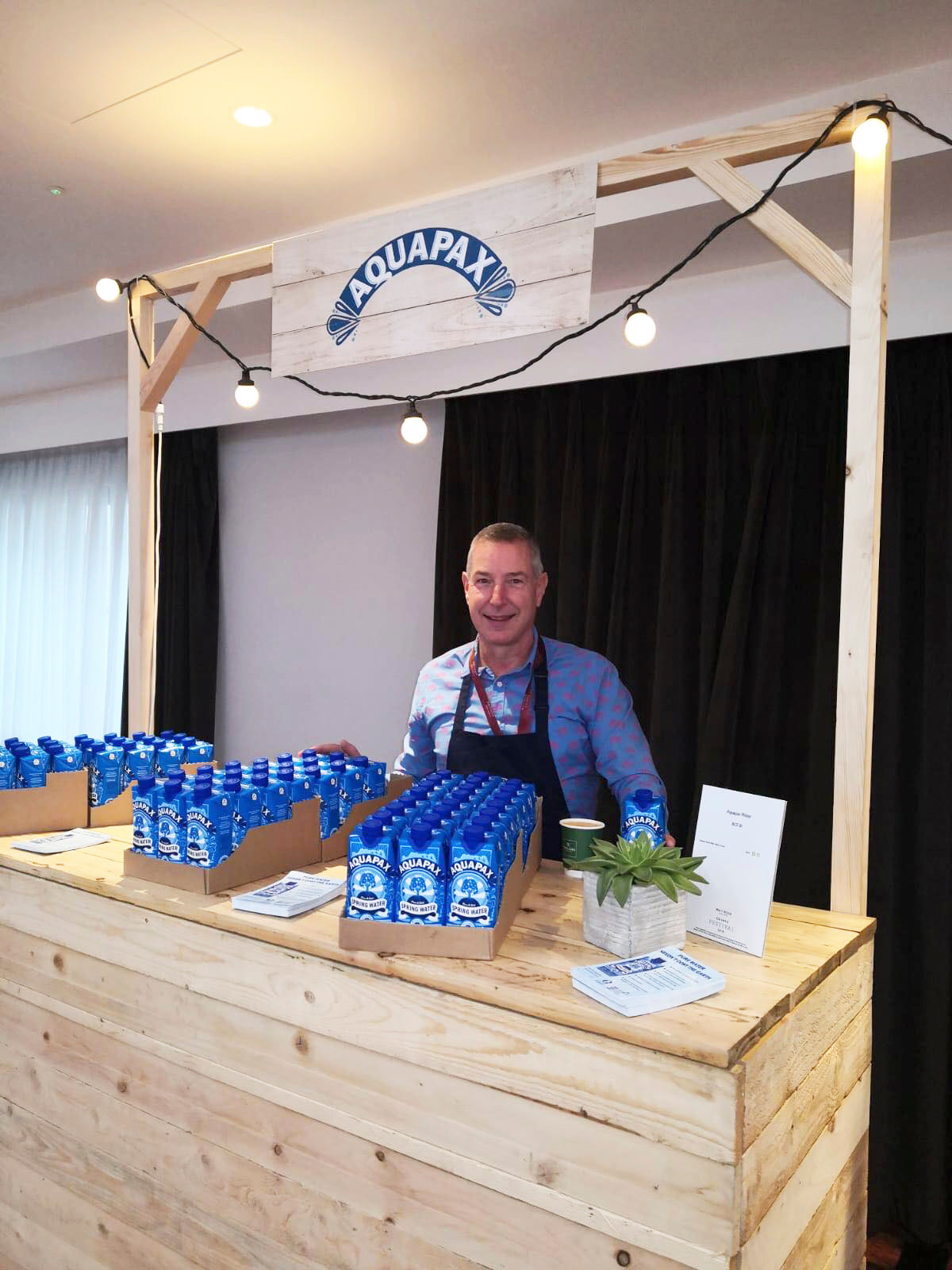 aquapax water Waitrose drinks festival