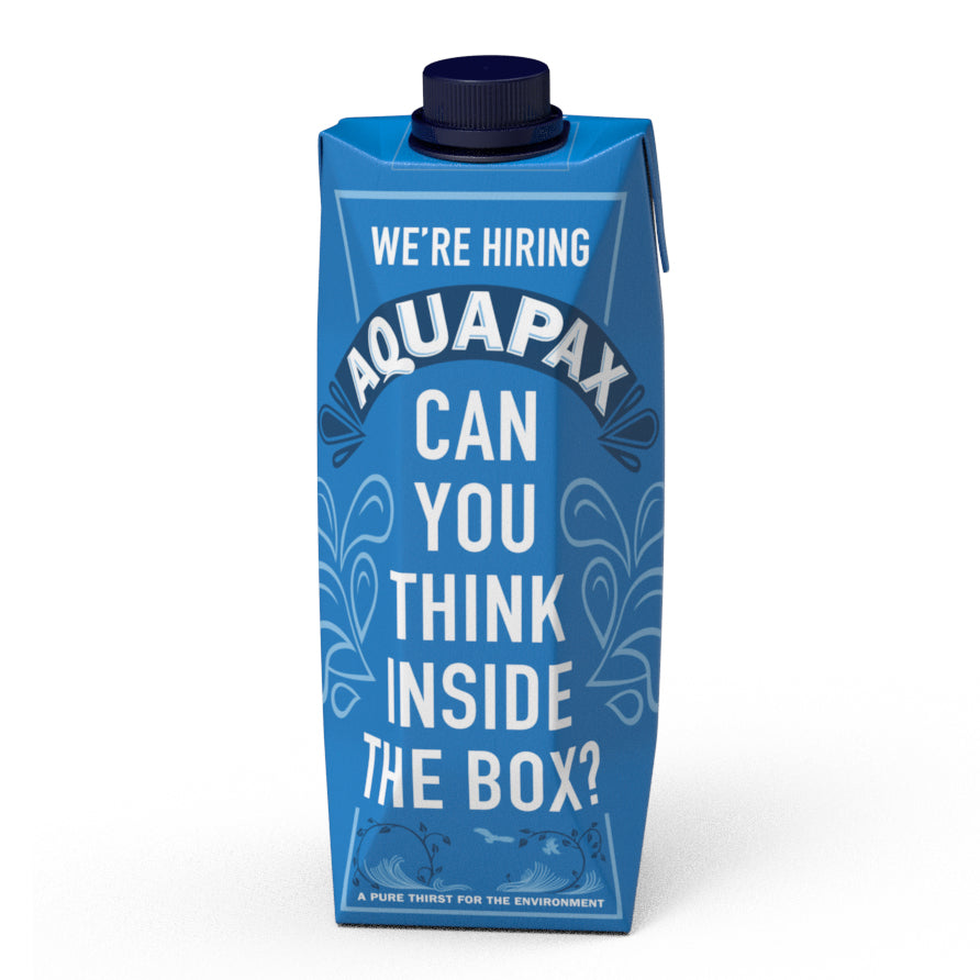 Aquapax Water Carton Eco Boxed Plastic Free careers