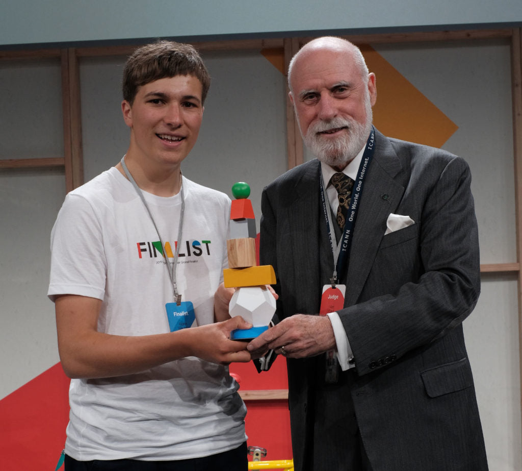 Aquapax Fionn Ferreira Google Science Award