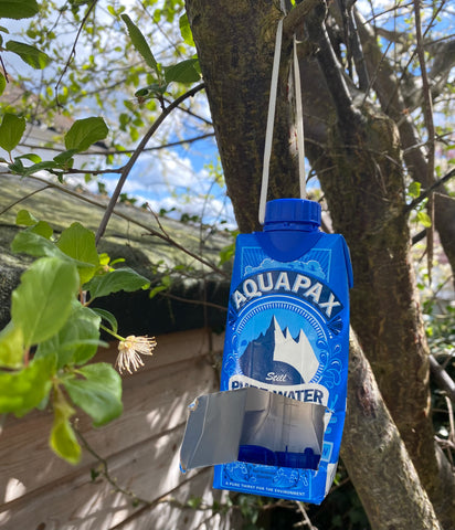 aquapax paper carton water pure bee hydration station