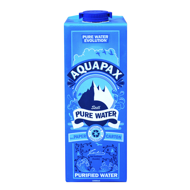 1000ml Aquapax Pure Water (16 Cartons)