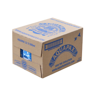 48 Aquapax Pure Sring Water (4x cases of 12x 500ml cartons) Inc Free Shipping