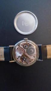 Vintage Girard Perregaux Manual Winding Watch with Blue Dial