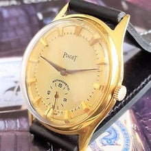 Piaget - Circa 1940 Gold Plated Antimagnetic Champagne Textured Dial