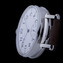 Hamilton - Pre-1920 Watch Movement with New Custom Case & Restored Dial - 21 Jewel Men's Watch