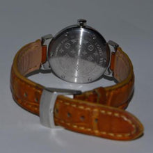 Women's Louis Vuitton Tambour with Date & Leather Band