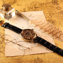 Jaeger-LeCoultre Vintage Gold Skeleton Wristwatch