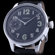 Zenith Pre-1920 Swiss Military Watch with New Case