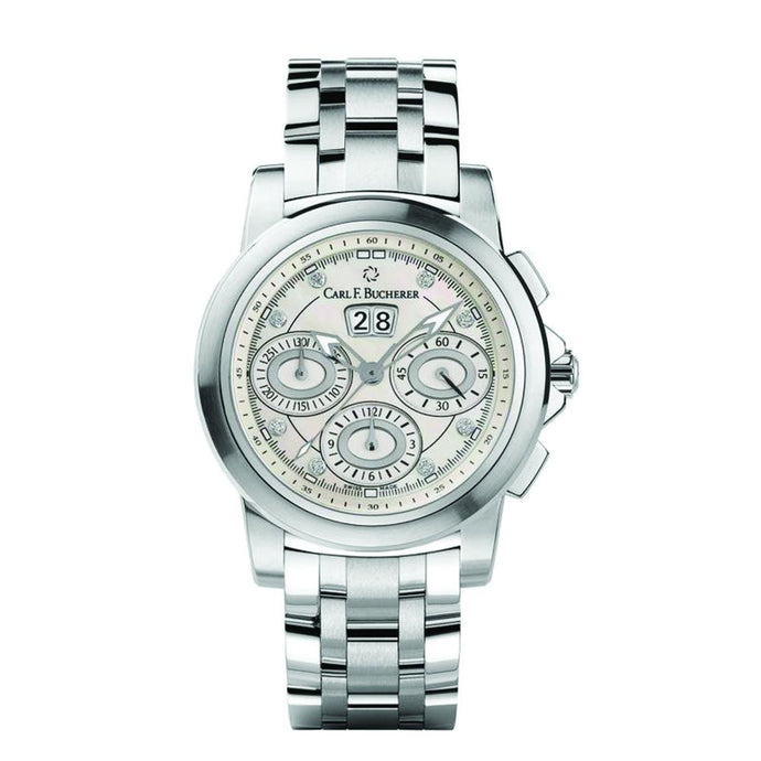 Carl F. Bucherer Patravi Stainless Steal Chronograph