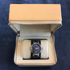 Louis Vuitton - Louis Vuitton Brown Tambour Ladies Watch