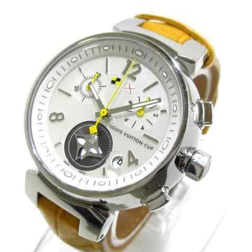 Louis Vuitton - Tambour Chronograph Lovely Cup Q132C Women's Wrist Watch