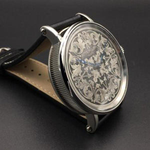 Patek Philippe - Stunning 1800's Antique Movement with Hand Engraved Dial and Custom Watch Case